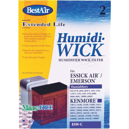 Picture of BestAir Extended Life Humidi-Wick ESW Humidifier Wick Filter (2-Pack)