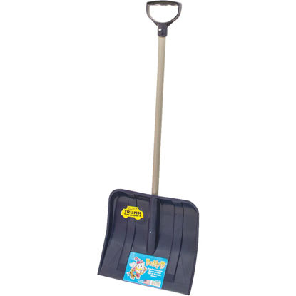 Picture of Buddy B 12 In. Poly Childrens Snow Shovel with 24 In. Poly Handle