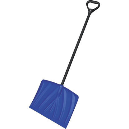 Picture of Rugg 18 In. Poly Snow Shovel with 35 In. Steel Handle