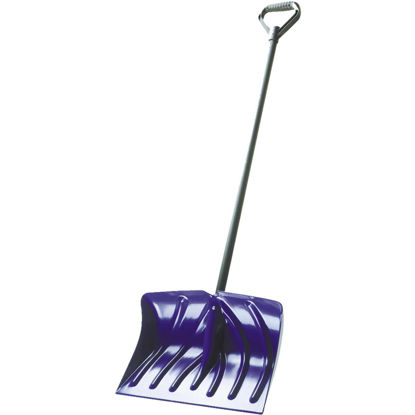 Picture of Suncast 18 In. Poly Snow Shovel with 39 In. Steel Handle
