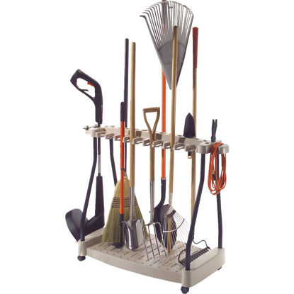 Picture of Suncast 42 In. Long Handle Tool Rack with Wheels