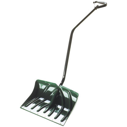 Picture of Suncast 18 In. Poly Snow Shovel & Pusher with 40.5 In. Steel Handle