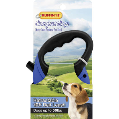 Picture of Westminster Pet Ruffin' it Up to 50 Lb. 10 Ft. Retractable Leash