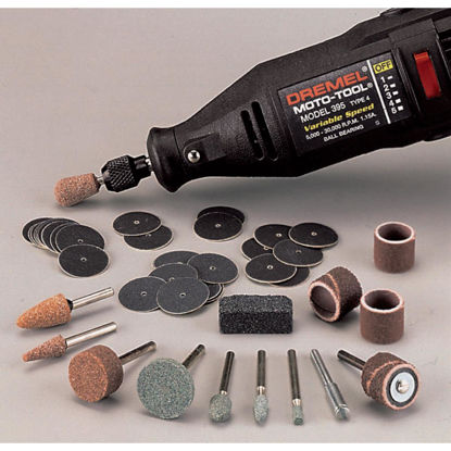 Picture of Dremel Sanding and Grinding Rotary Tool Accessory Kit (31-Piece)
