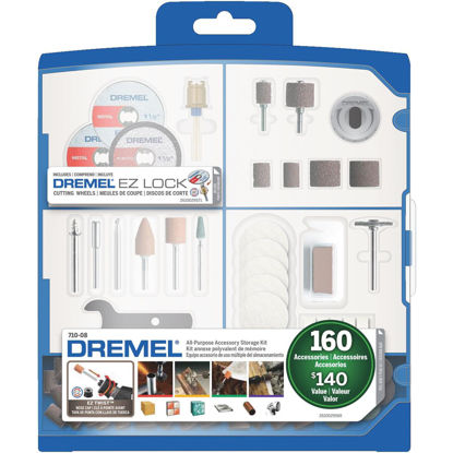 Picture of Dremel All-Purpose Rotary Tool Accessory Kit (160-Piece)
