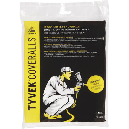 Picture of Trimaco Tyvek Large Reusable Painter's Coveralls