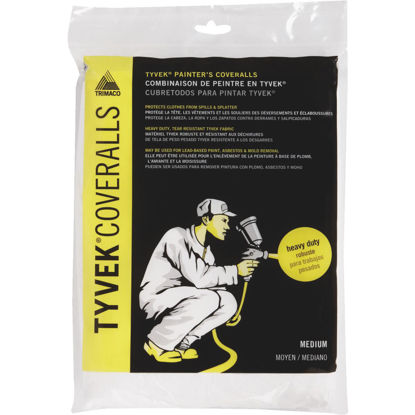 Picture of Trimaco Tyvek Medium Reusable Painter's Coveralls