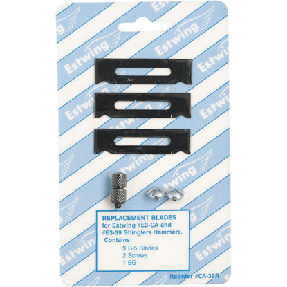 Picture of Estwing Shingling Hatchet Replacement Blade and Gauge