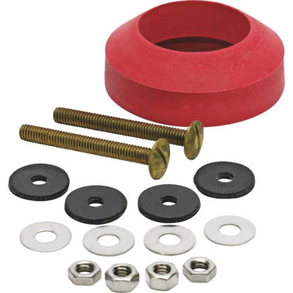 Picture of Fluidmaster Toilet Bolts and Tank To Bowl Gasket Kit