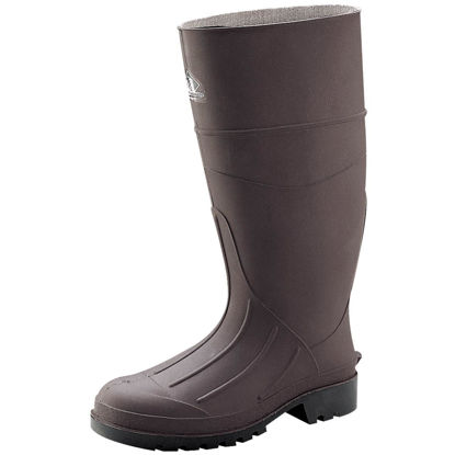 Picture of Honeywell Servus Men's Size 9 Brown PVC Rubber Work Boot