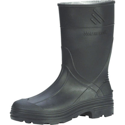 Picture of Honeywell Servus Youth Size 3 Black PVC Rubber Boot