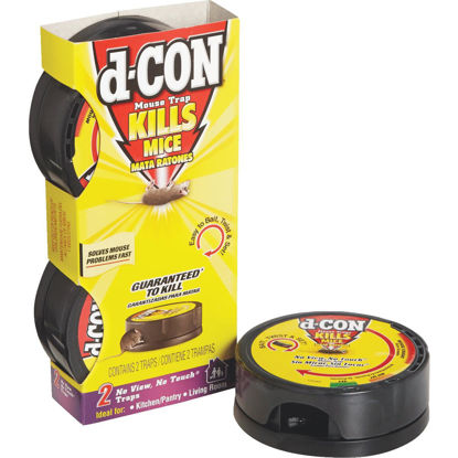 Picture of D-Con No View, No Touch Mechanical Mouse Trap (2-Pack)