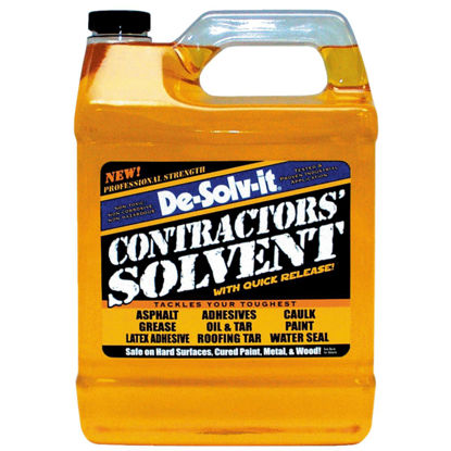 Picture of De-Solv-it 1 Gal. Contractors' Solvent Adhesive Remover
