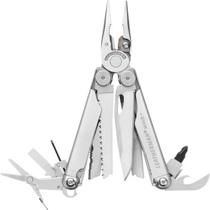Picture of Leatherman Wave 18-In-1 Stainless Steel Multi-Tool