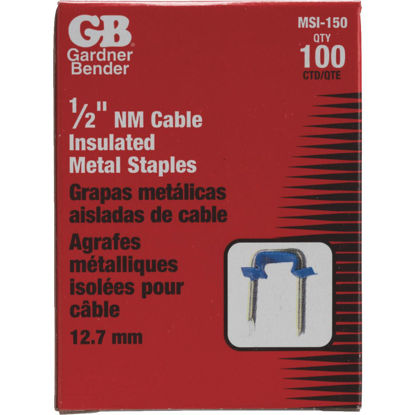 Picture of Gardner Bender 1/2 In. Steel Cable Staple (100-Count)
