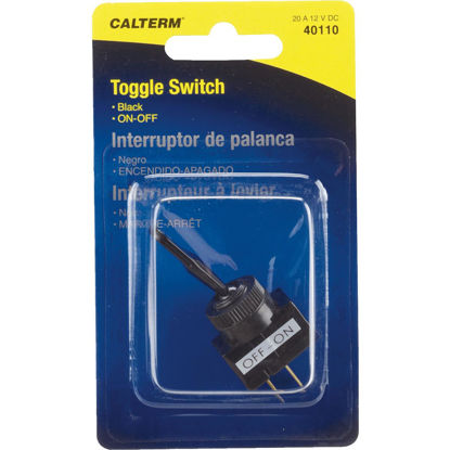 Picture of Calterm Duck Bill Male Blade 20A Toggle Switch
