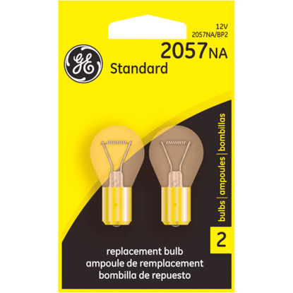Picture of GE 12V 2057NA Miniature Incandescent Automotive Bulb (2-Pack)