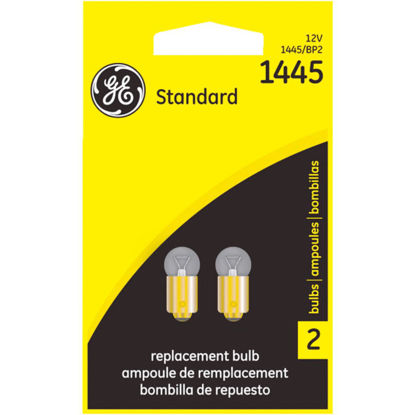 Picture of GE 12V 1445 Miniature Incandescent Automotive Bulb (2-Pack)