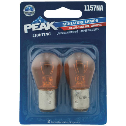 Picture of PEAK 1157NA 12.8/14V Mini Incandescent Automotive Bulb (2-Pack)