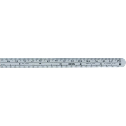 Picture of General Tools 6 In. Flexible Steel Economy Precision Straight Edge Ruler