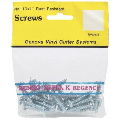 Picture of Raingo #10 x 1 In. Aluminum Repla K Gutter Screw, 25-Pack