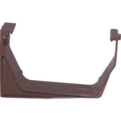 Picture of Raingo RainGo Vinyl Brown Heavy Load Gutter Hanger Bracket