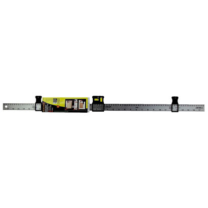 Picture of Mayes MarkSmart 36 In. Aluminum Decorating Tool Straight Edge Ruler with Level