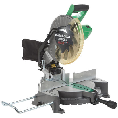 Picture of Metabo 10 In. 15-Amp Compound Miter Saw with Laser