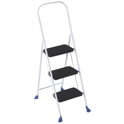 Picture of COSCO Big Step 3-Step Folding Step Stool
