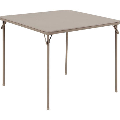 Picture of COSCO 34 In. x 34 In. Folding Table, Sand