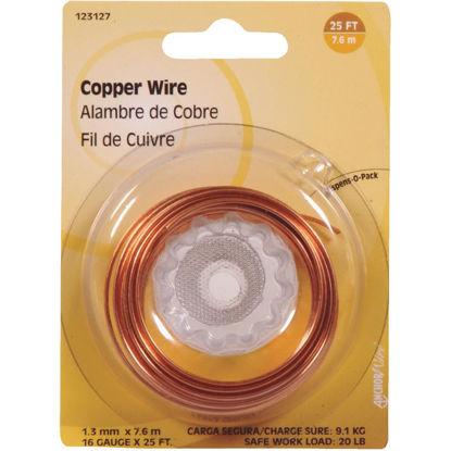 Picture of Hillman Fastener Corp 25 Ft. 16 Ga. Copper Wire