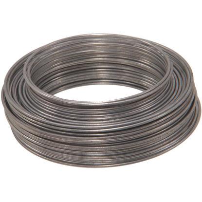 Picture of Hillman Fastener Corp 50 Ft. 19 Ga. Galvanized Steel Wire