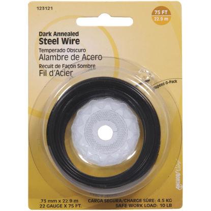 Picture of Hillman Fastener Corp 75 Ft. 22 Ga. Dark Annealed Steel Wire