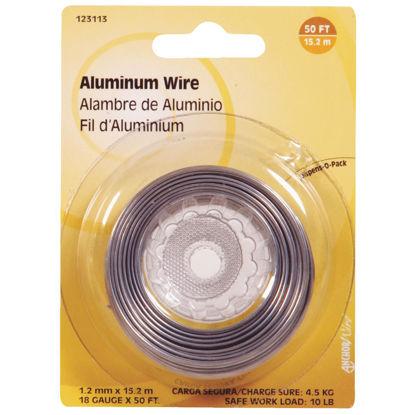 Picture of Hillman Fastener Corp 50 Ft. 18 Ga. Aluminum Wire