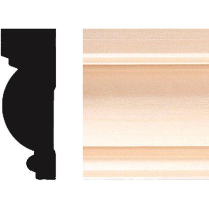 Picture of House of Fara 1 In. W. x 2-3/4 In. H. x 8 Ft. L. Natural Hardwood Colonial Wood Casing