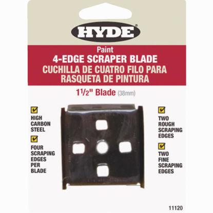 Picture of Hyde 1-1/2 In. 4-Edge Replacement Scraper Blade