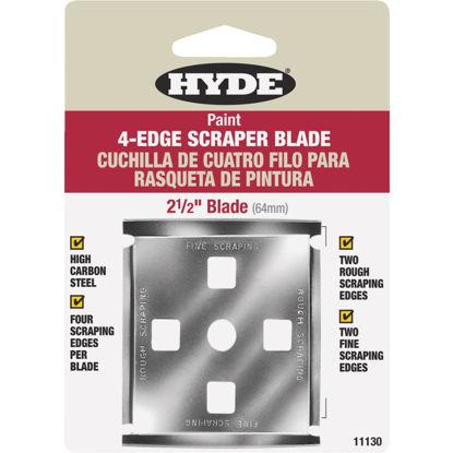 Picture of Hyde 2-1/2 In. 4-Edge Replacement Scraper Blade