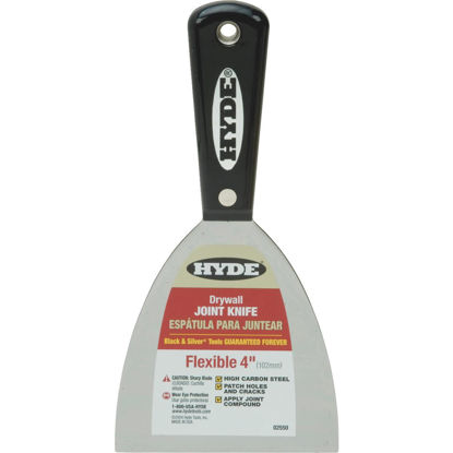 Picture of Hyde Black & Silver Professional 4 In. Flexible Joint Knife