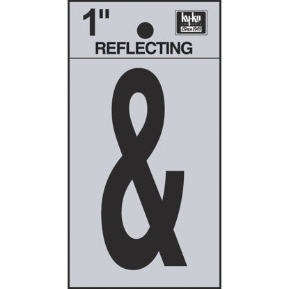 Picture of Hy-Ko 1 In. Vinyl Adhesive Symbol, Ampersand