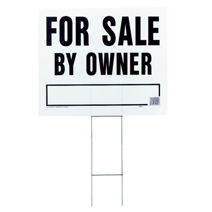 Picture of Hy-Ko  Corrugated Plastic Sign, For Sale By Owner