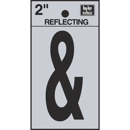 Picture of Hy-Ko 2 In. Vinyl Adhesive Symbol, Ampersand