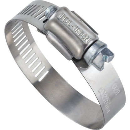 Picture of Ideal 1/2 In. - 1-1/16 In. 57 Stainless Steel Hose Clamp with Zinc-Plated Screw