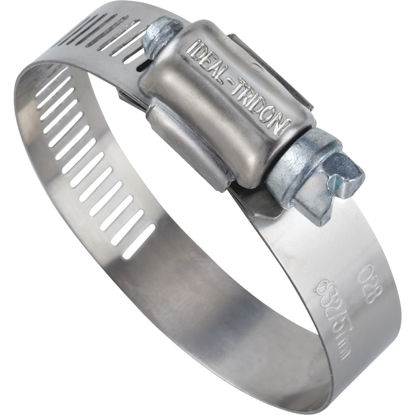 Picture of Ideal 1 In. - 2 In. 57 Stainless Steel Hose Clamp with Zinc-Plated Screw