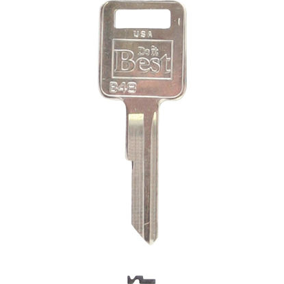 Picture of Do it Best GM Nickel Plated Automotive Key, B48 (10-Pack)