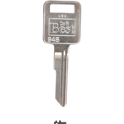 Picture of Do it Best AMC Nickel Plated Automotive Key, B46 (10-Pack)