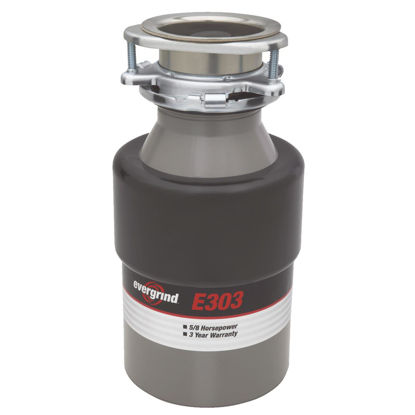 Picture of Evergrind 5/8 HP Garbage Disposal, 3 Year Warranty