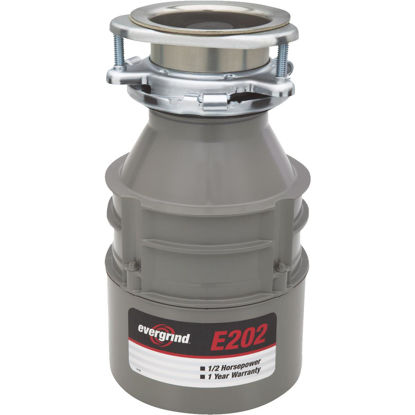 Picture of Evergrind 1/2 HP Garbage Disposal, 1 Year Warranty