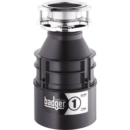 Picture of Insinkerator Badger 1/3 HP Garbage Disposal, 1 Year Warranty