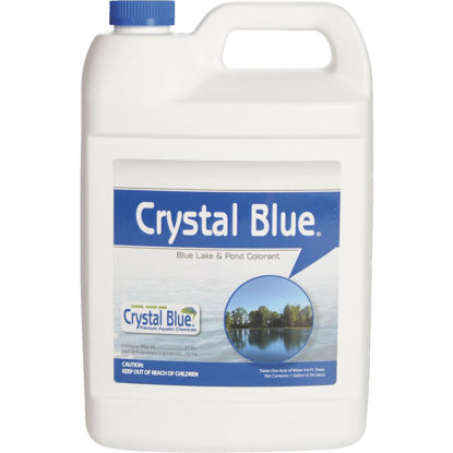 Picture of Crystal Blue 1 Gal. 1-Acre Blue Lake & Pond Colorant