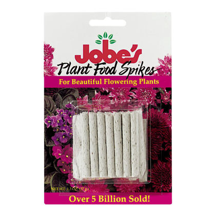 Picture of Jobe's 10-10-4 Flowering Plant Food Spikes (50-Pack)